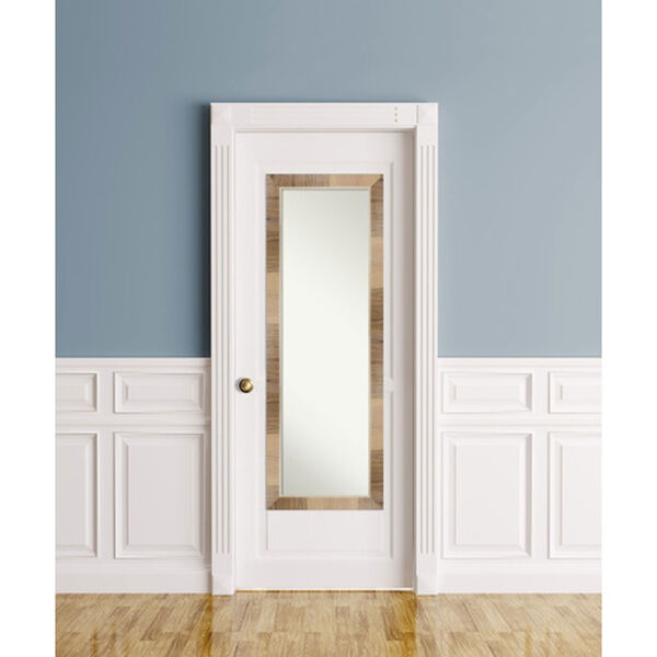 Brown 18-Inch Full Length Mirror, image 6