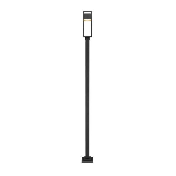 Barwick Black 114-Inch One-Light LED Outdoor Post Mount, image 4