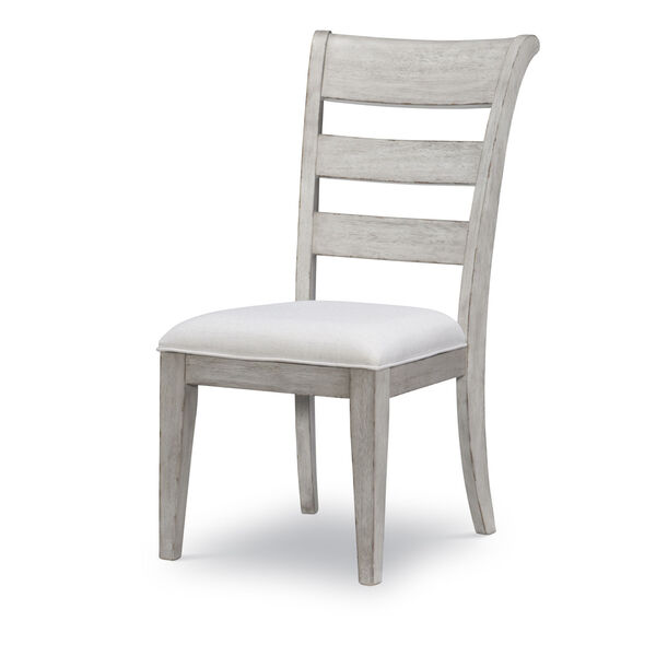 Belhaven Weathered Plank Ladder Back Side Chair, Set of Two, image 1