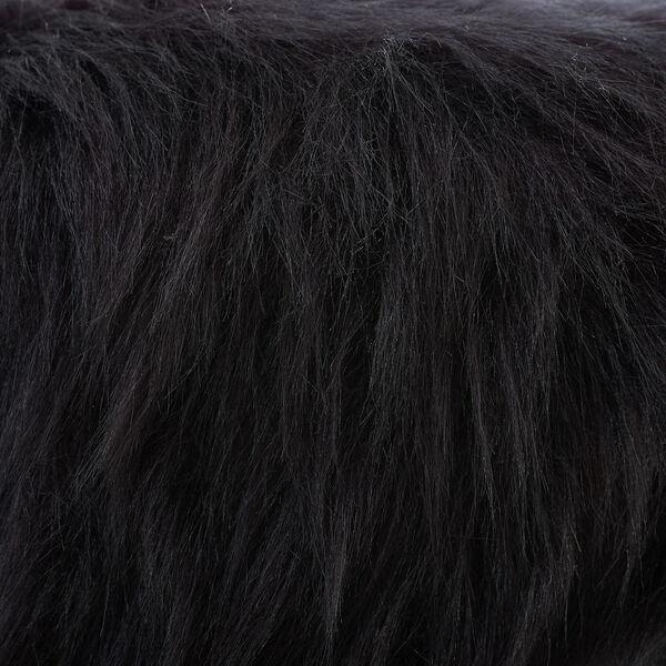 Luke Faux Fur Foot Stool, image 5