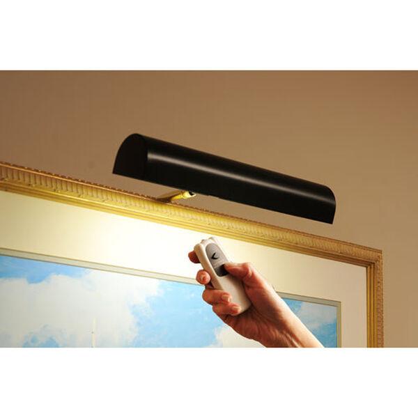 Black Cordless LED Remote Control Picture Light, image 1