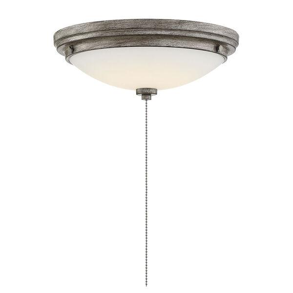 Lucerne Aged Wood One-Light Fan Light Kit, image 3