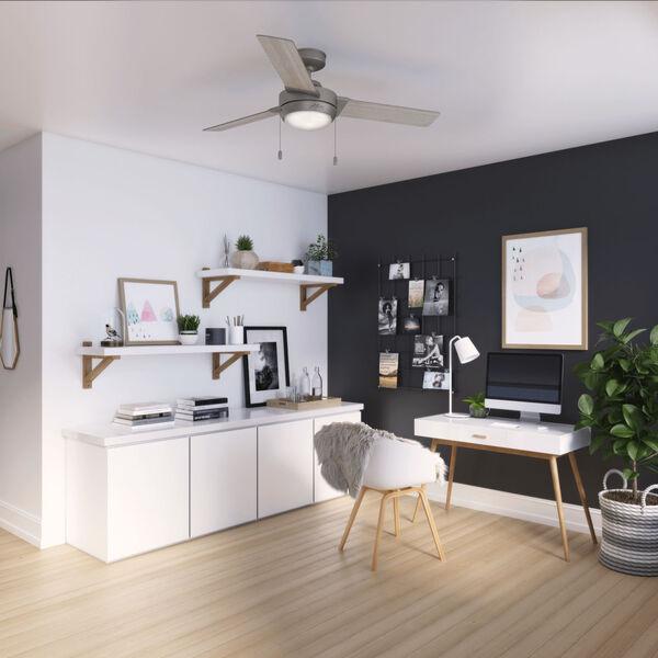 Mesquite Matte Silver 52-Inch LED Ceiling Fan, image 4