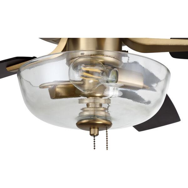 Pro Plus Satin Brass 52-Inch Two-Light Ceiling Fan, image 7