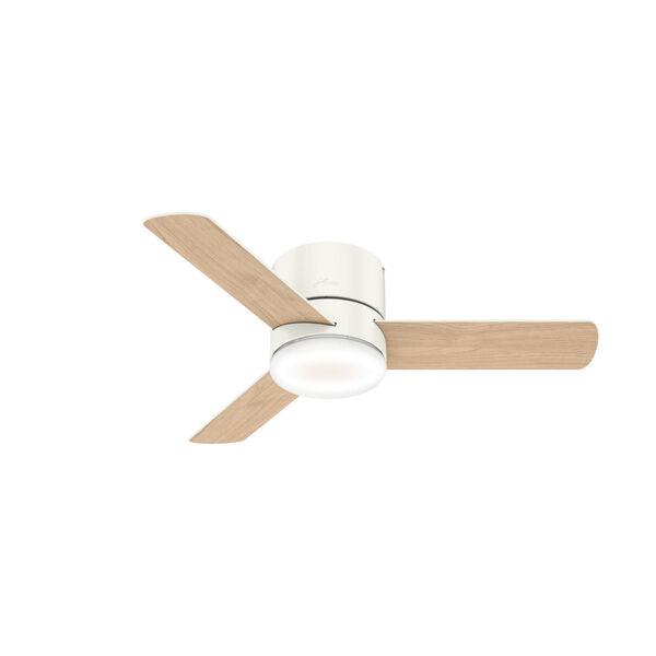 Minimus Low Profile Fresh White 44-Inch LED Ceiling Fan, image 3
