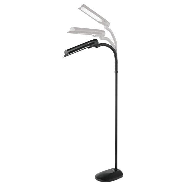 Black Wing Shade LED Floor Lamp, image 4