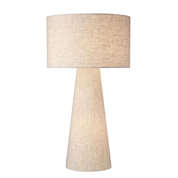 Montebello Light Beige One-Light Table Lamp, image 1