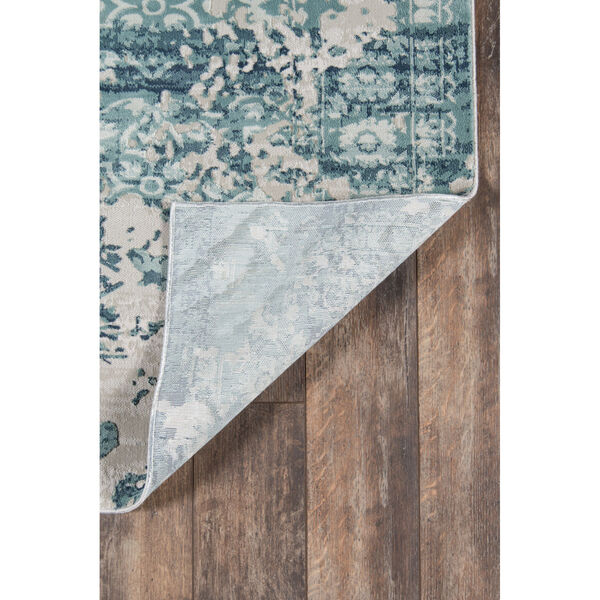 Genevieve Blue Rectangular: 5 Ft. 1 In. x 7 Ft. 7 In. Rug, image 6