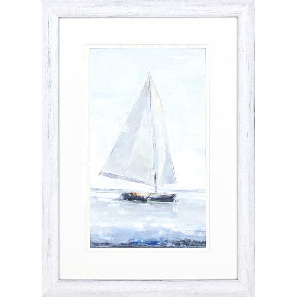 Sailors Delight II Blue Framed Art, image 2