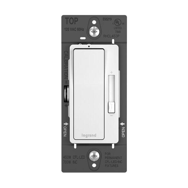 450W White CFL LED Single Pole 3-Way Dimmer, image 1