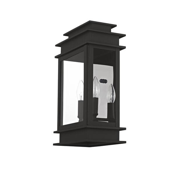 Princeton Black Two-Light 15-Inch Wall Lantern, image 2