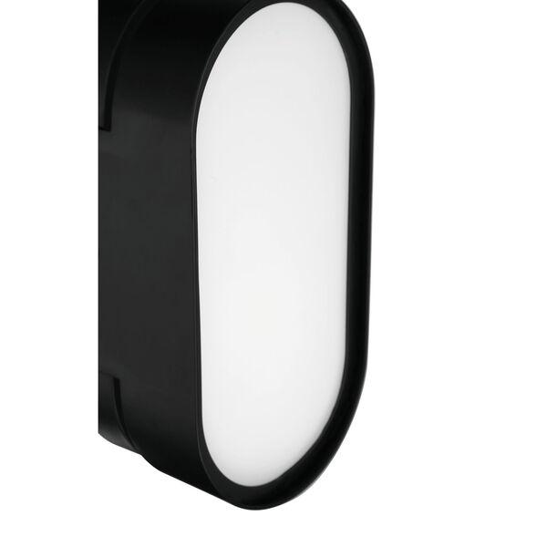 Melody Flat Black LED Wall Sconce, image 6