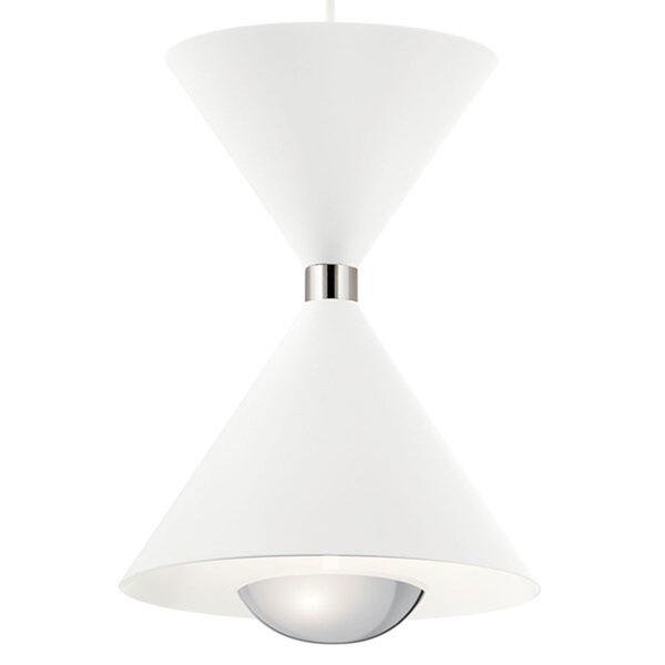 Kordan Matte White LED Mini Chandelier, image 3