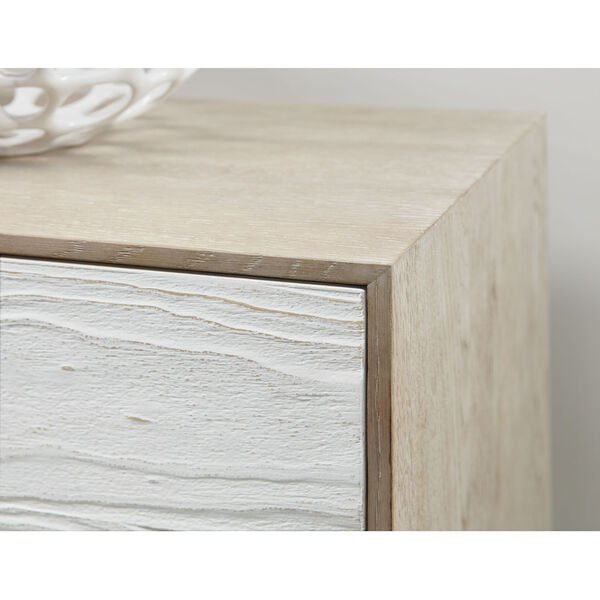 Cascade Taupe and White Entertainment Console, image 4