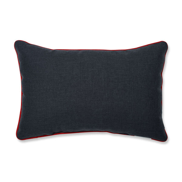 Gray and White Christmas Frosty and Friends Lumbar Pillow, image 2