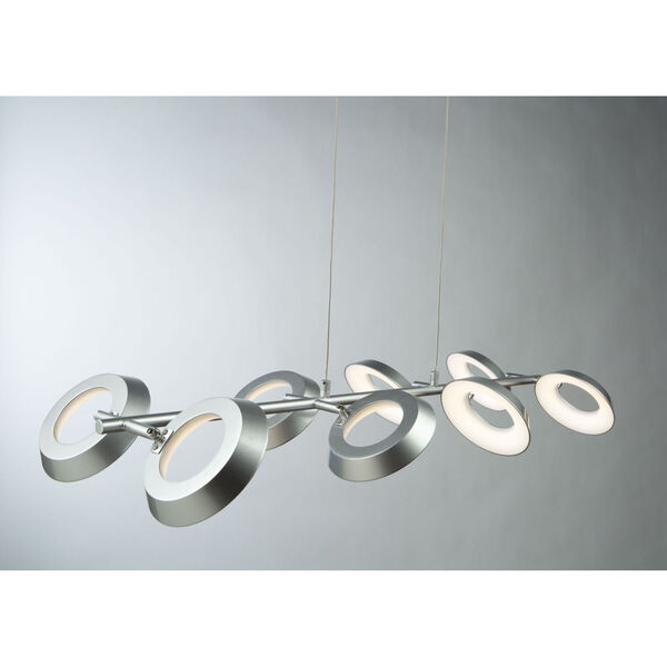 Leith Silver LED Island Pendant, image 2