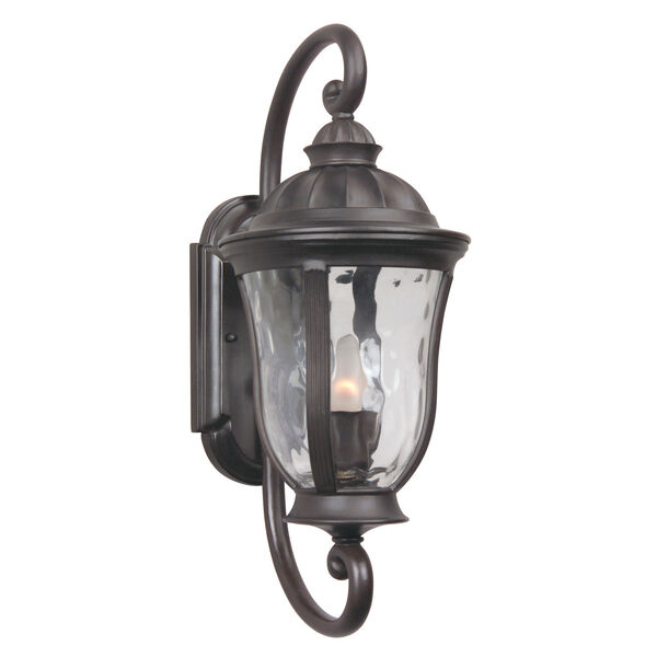 Frances Bronze One-Light Small Outdoor Wall Mount, image 1