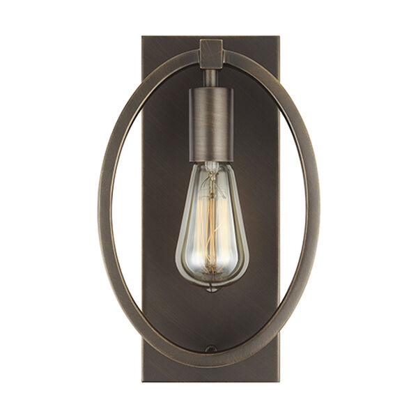 Cardiff Bronze One-Light Wall Sconce, image 1