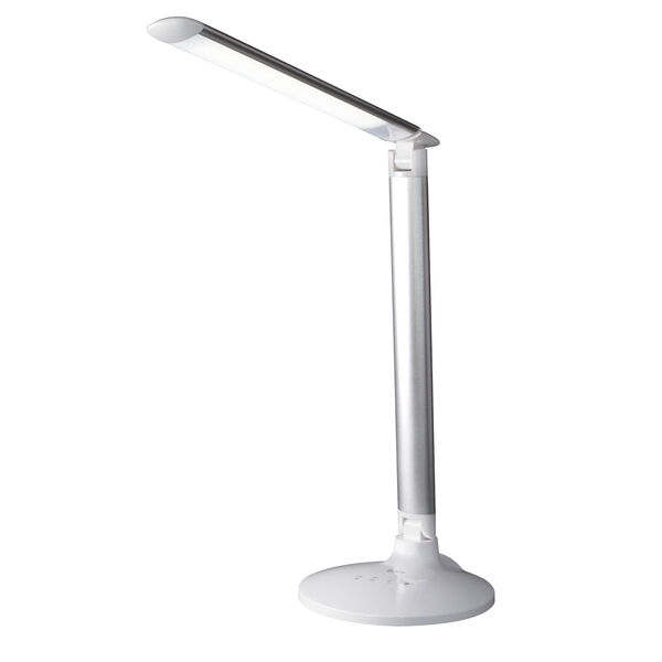 Command Grey LED Desk Lamp with Voice Assistant, image 2
