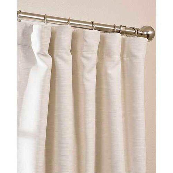 Cottage White 63 x 50-Inch Bellino Blackout Curtain Single Panel, image 5