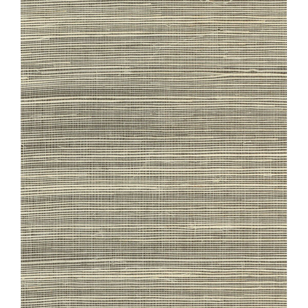 Lillian August Luxe Retreat Salt and Pepper Sisal Grasscloth Unpasted Wallpaper, image 1