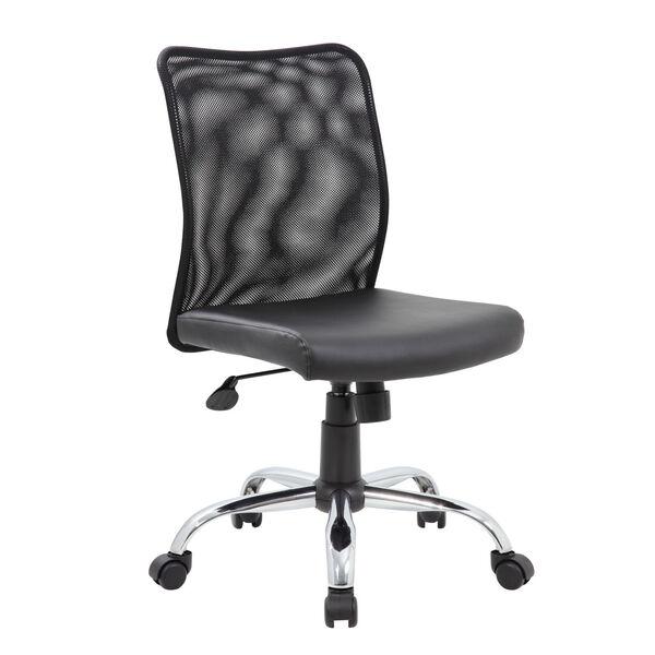 Boss 27-Inch Black Budget Mesh Task Chair, image 1