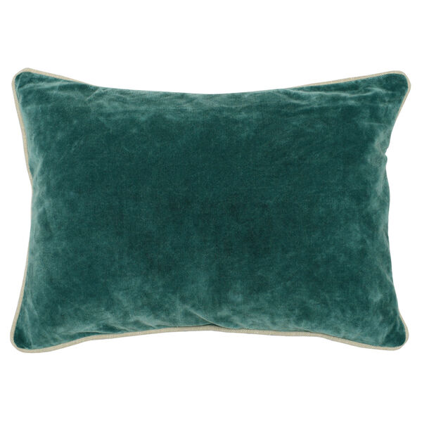 Colby 14-Inch Green Throw Pillow, image 1