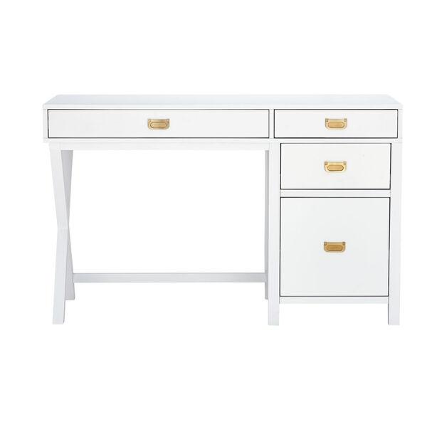 Max White Gold Desk, image 2