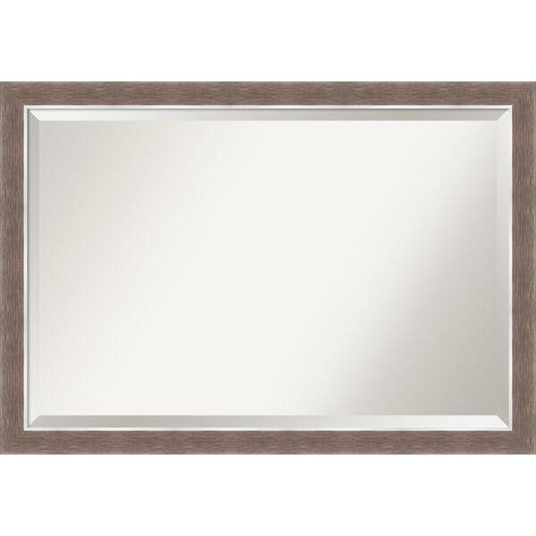 Noble Mocha 40W X 28H-Inch Bathroom Vanity Wall Mirror, image 1