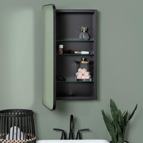 Hadley Black Medicine Cabinet, image 1