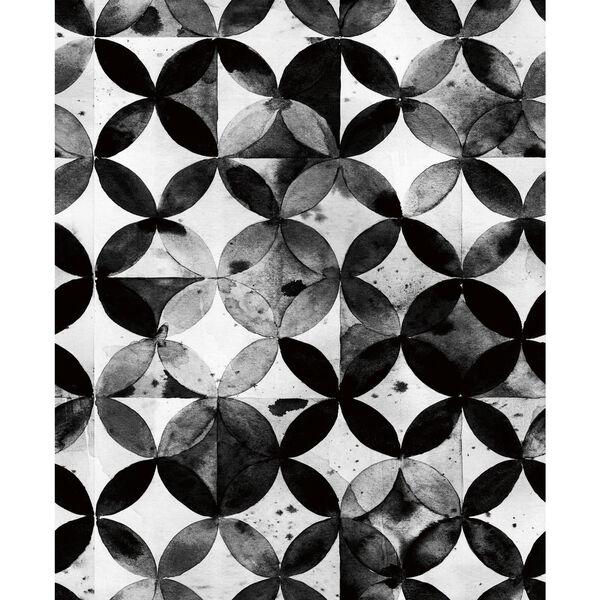 Paul Brent Moroccan Black Peel and Stick Wallpaper, image 1