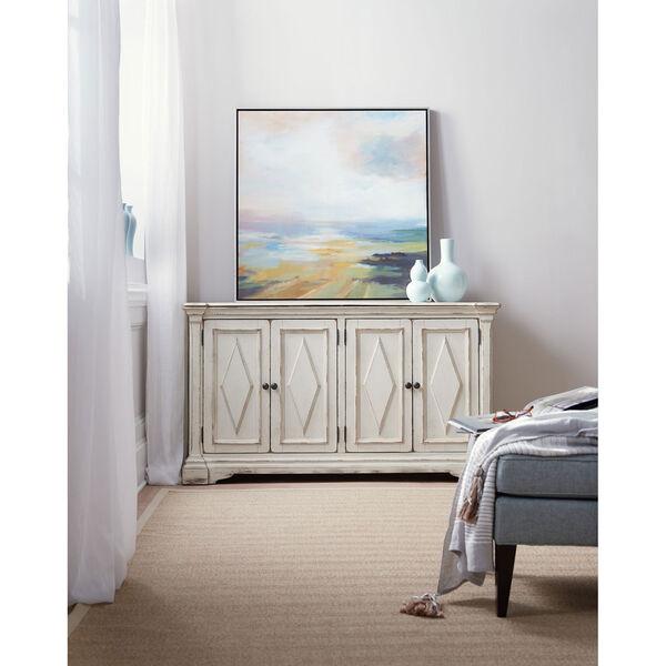 Four-Door White Cabinet, image 3