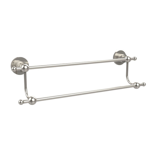 Astor Place Polished Nickel 18 Inch Double Towel Bar, image 1