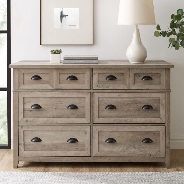 Odette Gray Wash Dresser, image 1