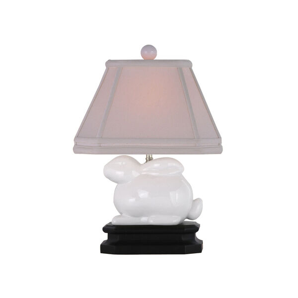 White Bunny Lamp, image 1