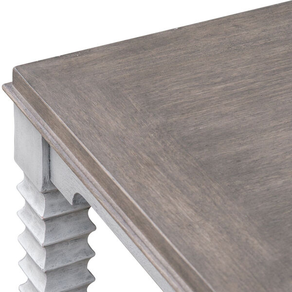 Calypso Gray and White Side Table, image 6