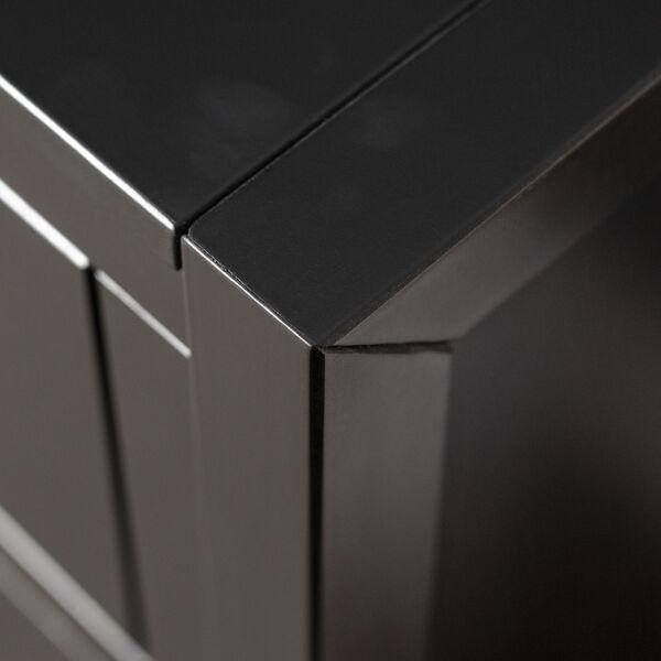 Lydia Black Dresser with Six Drawer, image 5