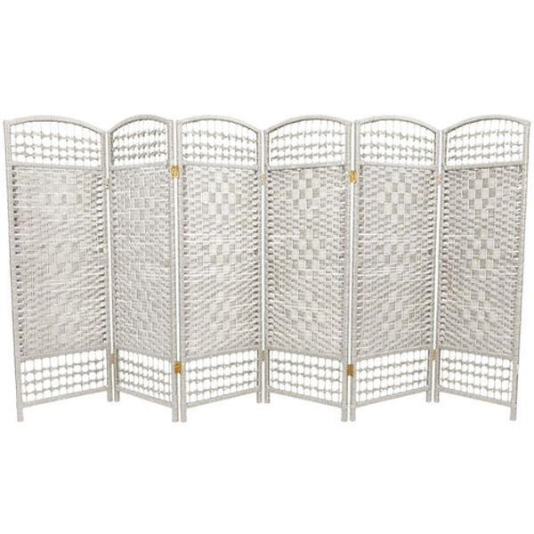 Four Ft. Tall Fiber Weave Room Divider, Width - 96 Inches, image 1