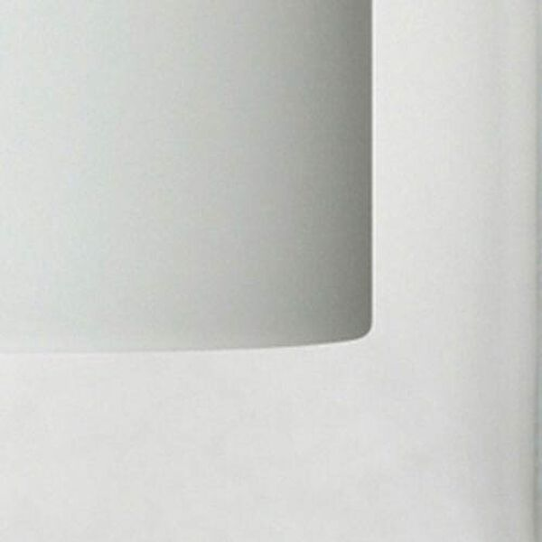 Pahu Satin Nickel Two-Light Bath Fixture with Clear and Opal Glass, image 2