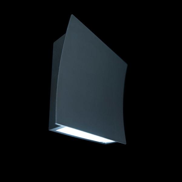 Slide Black Two-Light LED 3000K Wall Sconce, image 5