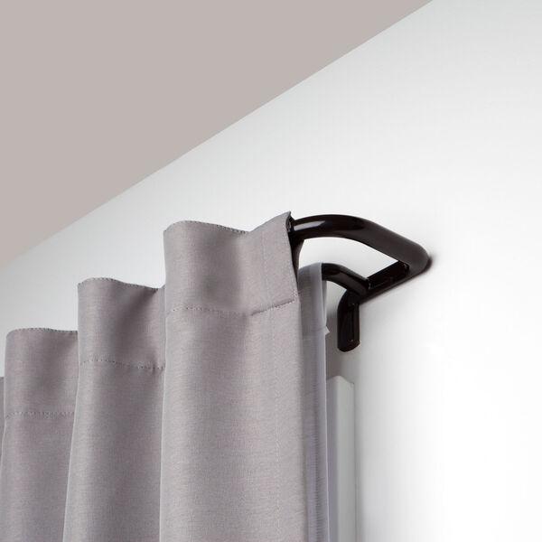 Twilight Auburn Bronze 88-144 In. Double Curtain Rod, image 1