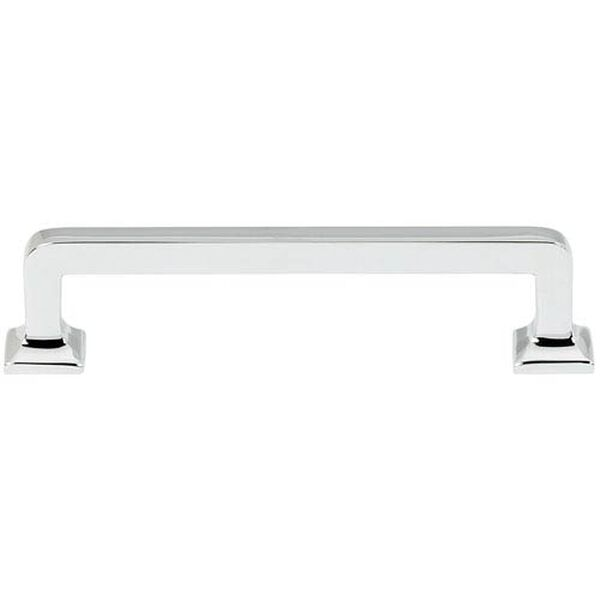 Polished Chrome 4-Inch Pull, image 1