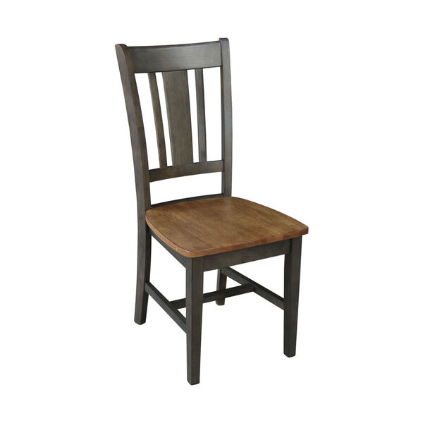 San Remo Hickory and Washed Coal Splatback Chair, Set of 2, image 6