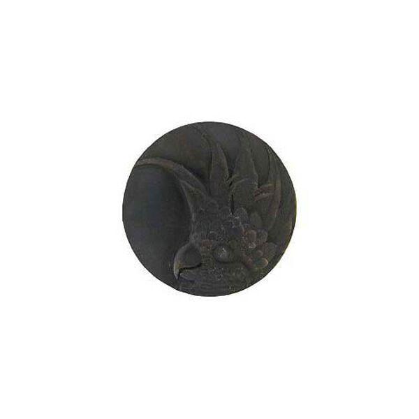 Dark Brass Large Cockatoo Knob-Right, image 1