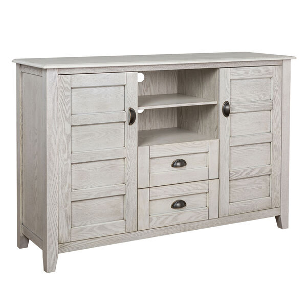 Angelo HOME 52-Inch Rustic Chic TV Console - White Wash, image 4