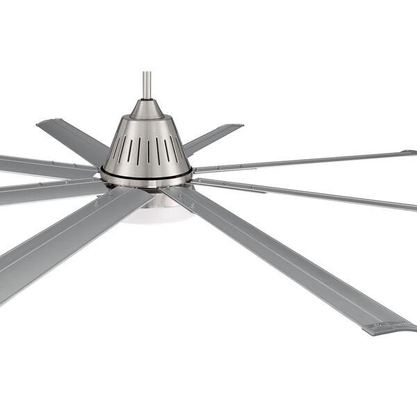 Wingtip Brushed Polished Nickel 72-Inch Ceiling Fan, image 6
