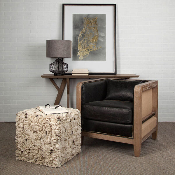 Clark Bronze and Beige One-Light Table Lamp, image 2