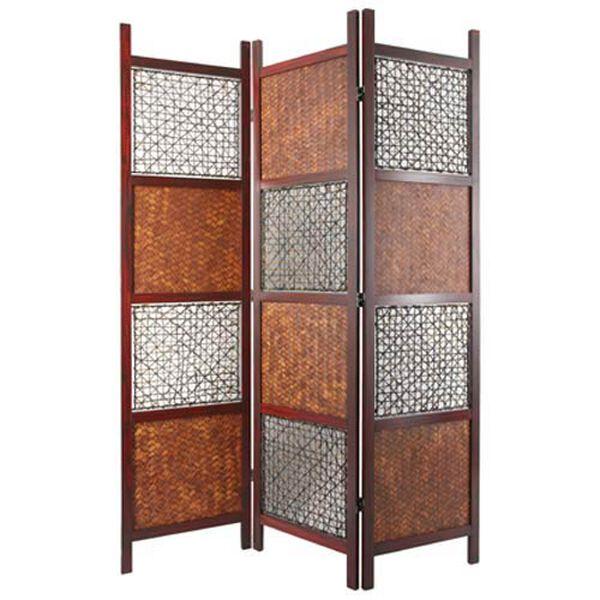 Bamboo Leaf Room Divider, image 1