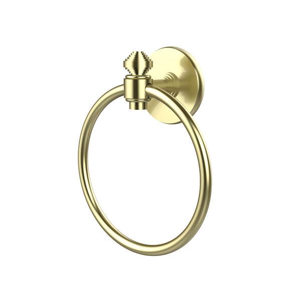 Southbeach Satin Brass Towel Ring, image 1