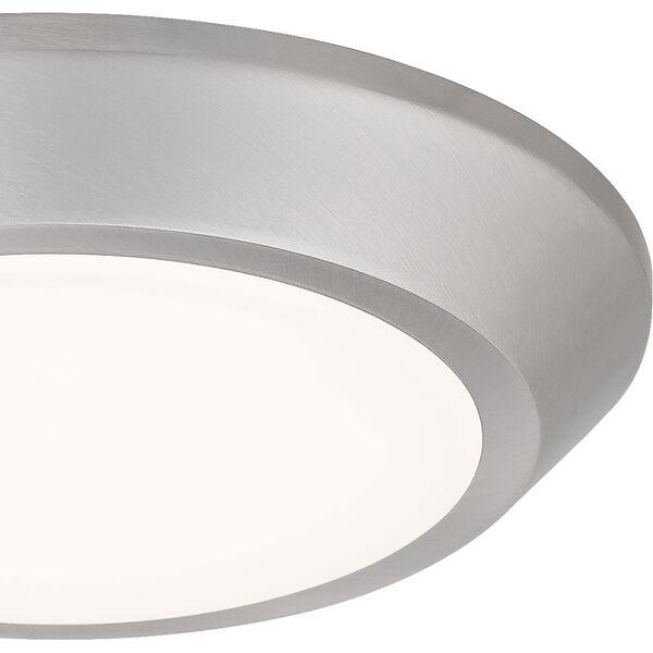 Verge Brushed Nickel LED Flush Mount, image 6